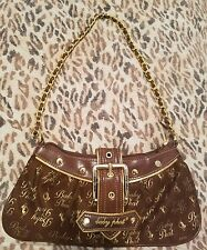 Brown and Gold Baby Phat bag