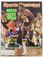 Lakers Magic Johnson Signed June 1984 Sports Illustrated Magazine BAS #MJ07993