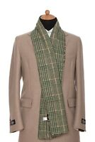 """229$ Belvest Scarf Scarves Reversible Cashmere Wool Made in Italy 72"""" x 18"""""""