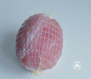 1m of White Butchers Roastable High Quality Meat Netting Medium Tube 100-160mm