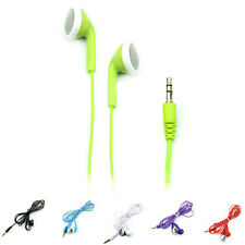 3.5mm Earphone Headset Stereo Headphone For iPhone 6 MP3 iPod PC Samsung Green