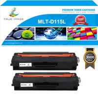 2PK Toner Cartridge for Samsung MLT-D115L Xpress SL-M2830DW SL-M2870FW Printer