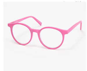 Eyebobs Case Closed Premium Reading Glasses - Italian Acetate Frame - Pink