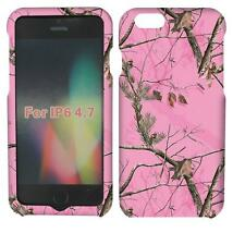 Pink Camo Acer Tuff For Apple Iphone 6 Cover Case Snap on Protector