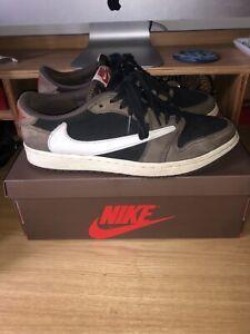 Nike air jordan 1 Travis Scott low 100% Genuine.