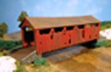 Bachmann Plasticville 45010 Covered Road Bridge 1/87 Scale H0 Gauge New T48 Post