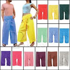 Cotton Low Rise Regular Size Trousers Harem for Women