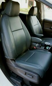 Honda Odyssey 2018-2020 IGGEE S.LEATHER CUSTOM MADE FIT SEAT COVERS 13 COLORS