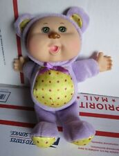 """Cabbage Patch Kids Doll Violet Bear Snugglies 9"""""""