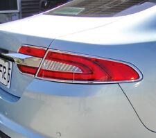 FAST EMS x2 Chrome Rear Tail light Surrounds for Jaguar XF XFR XFR-S X250 11-15