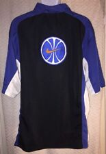 90's Vintage NIKE Basketball zipper front warm-up jersey size Large