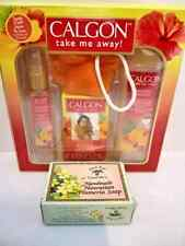 CALGON BATH & BODY GIFT SET 5 PIECES HAWAIIAN GINGER Island Soap & Candle Works