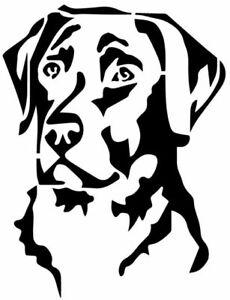 Labrador Dog stencil - A4/A5/A6 -  reusable - Choose a stencil