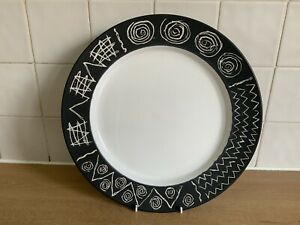 Scraffito By Habitat Japan - 1 x 31.5 cm Charger Plate - More Available