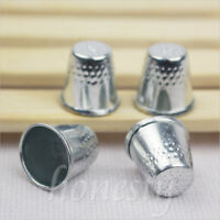 10/20/30pcs Metal Thimbles -Finger Sewing Grip Shield Protector For Pin Needles
