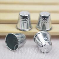 10/20/30pcs Metal Thimbles -Finger Sewing Grip Shield Protector For Pin Needles