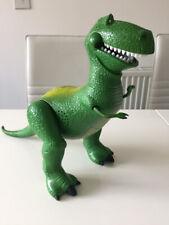 "Toy Story Rex TALKING Sounds Dinosaur Figure LARGE 17"" Long Disney Toys"