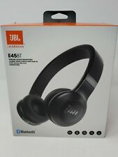 JBL Harman E45BT Wireless On-Ear Bluetooth Headphones Brand NEW Sealed