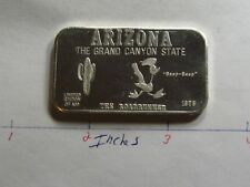 ROAD RUNNER ARIZONA GRAND CANYON STATE ISIC SUPER RARE 999 SILVER BAR 499 MADE
