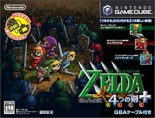 USED The Legend of Zelda: The Four Swords japan import Game Cube