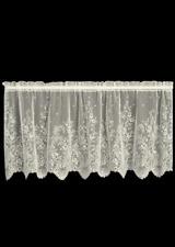 """Heritage Lace Ecru FLORET Window Tier 24""""L"""