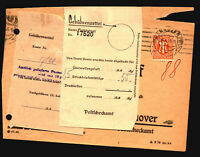 Germany Mi# 5EF ON Card W/ Staple Attachment / Light Fold - Z14718
