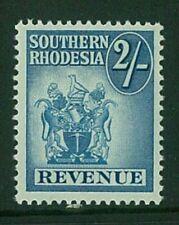 SOUTHERN RHODESIA - 1954 2/- Arms Revenue (UHM) (EM275)