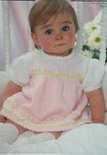 Baby's Dress Knitting Pattern