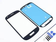 FRONTGLAS für SAMSUNG Galaxy S3 MINI BLAU Glas Display Touchscreen NEU & OVP