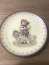 Goebel Germany Small Reproduction 1987 - H.M.Hummell Plate Motif Series Of 25