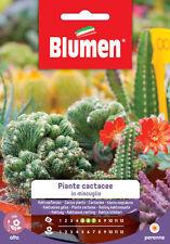 Blumen Semi di Piante cactacee in miscuglio Sementi da Piantare - 1 cfz