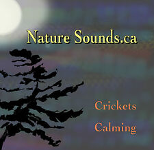 Crickets Calming CD by Nature Sounds.ca