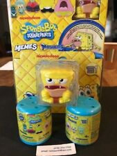 (3X)Mashems-Fashems* *SPONGEBOB*  2 SEALED capsules & 1 visible character- ALL 3