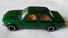TOMICA VERY RARE UNBOXED GREEN BMW 320i  FROM 1977,MADE IN JAPAN,MODEL IS MINT.