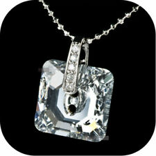Simulated Diamond Silver Plated Fashion Necklaces & Pendants