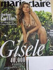 april 2020 Marie Claire Gisele Bundchen sexy cover