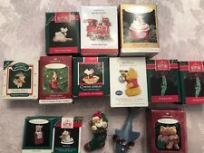 Vintage Hallmark Lot Of 14.  New And Used.