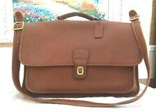 Vintage COACH Brown COURT SATCHEL SHOULDER BAG HANDBAG #J5C-5180