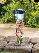 Fairy Walkway Solar Light Figure Figurine Statue Garden Deck Patio Outdoor Path