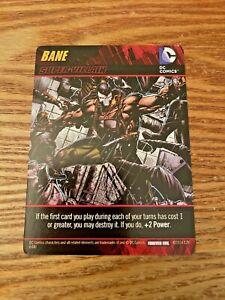 DC Comics Deck-Building Game Promo Card Bane