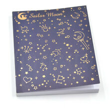 Anime Sailor Moon Logo Memo 20th Tsukino Usagi Diary Cosplay Notebook Stationary