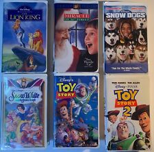 USED Lot of 15 Children's VHS Tapes from the 80's and 90's