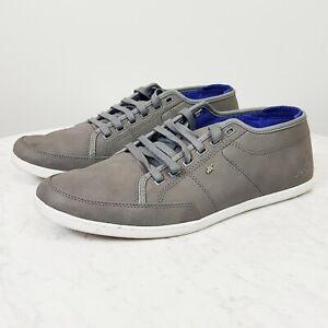 BOXFRESH Mens Size US 11 / UK 10 Sparko Steel Sneaker Shoes