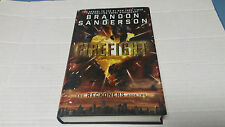 The Reckoners: Firefight by Brandon Sanderson (2015, Hardcover) SIGNED 1st/1st