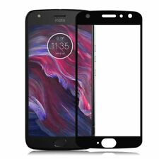 For Motorola Moto X4 3D Premium 0,3 Mm H9 Tempered Glass Black Sheet Protection