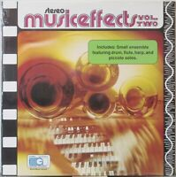 MusicEffects Vol Two LP Music Cues—Ensemble/Drum/Flute/Harp/Piccolo Library NEW