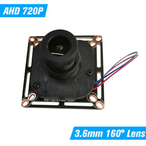 3.6mm 720P Camera Module DIY PCB Board Support XVI For CCTV AHD Camera PAL A4E2