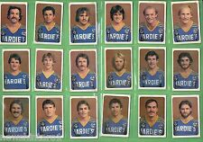 #T8.  1981 ARDMONA PARRAMATTA EELS   RUGBY LEAGUE CARDS, SIGNATURES etc