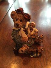 Boyds Bears Style 2000 Bailey Bear With Suitcase Figurine