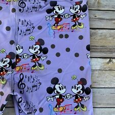 Mickey Minnie Music Mouse Sing Dance Women's Leggings OS One Size 2-12